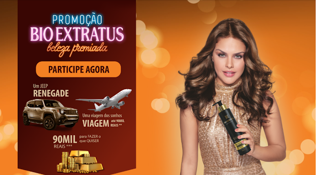 Promoção Bio Extratus Beleza Premiada