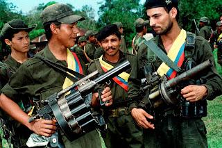 Guérilleros des FARC