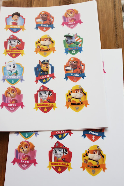 photograph regarding Free Printable Shopkins Food Labels known as Paw Patrol Lollipop Labels + Absolutely free Printable - Town of