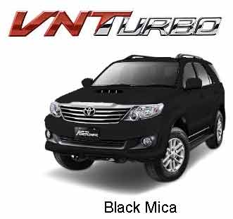 Fortuner Black Mica