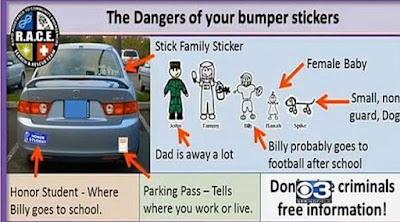 Hati-hati Memasang Stiker Ayah, Ibu dan Anak di Mobil