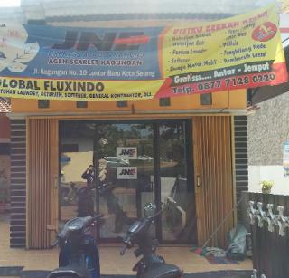 Alamat agen JNE di Serang, Banten.