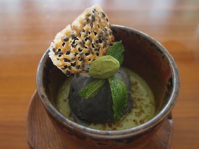 Green Tea Brulee