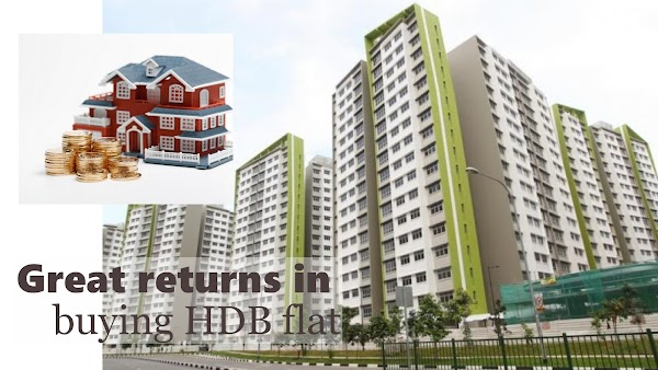 Great returns in buying HDB flat