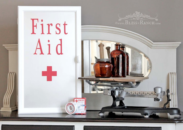 First Aid Cabinet, Bliss-Ranch.com