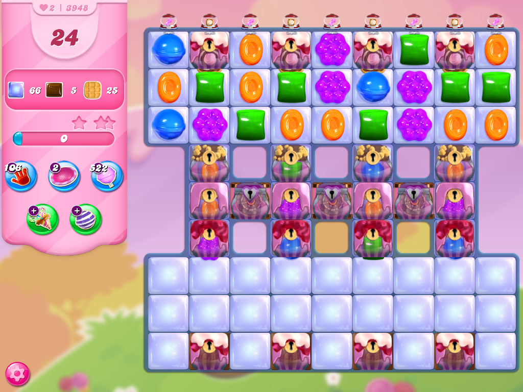 Candy Crush Saga level 3948