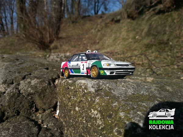 IXO RAC211 Subaru Legacy RS Tour de Corse 1991