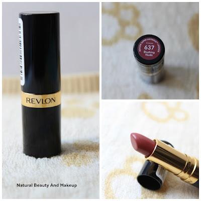 Revlon Super Lustrous Cream Lipstick, 637 Blushing Nude