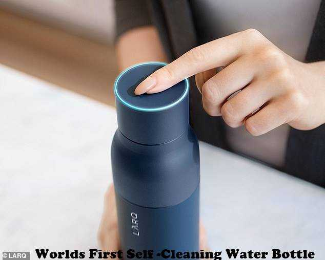 Worlds First Self -Cleaning Water Bottle