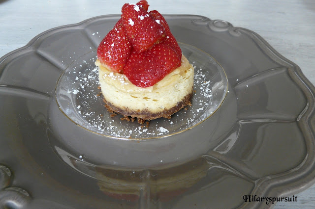 Cheesecake fraise-chantilly