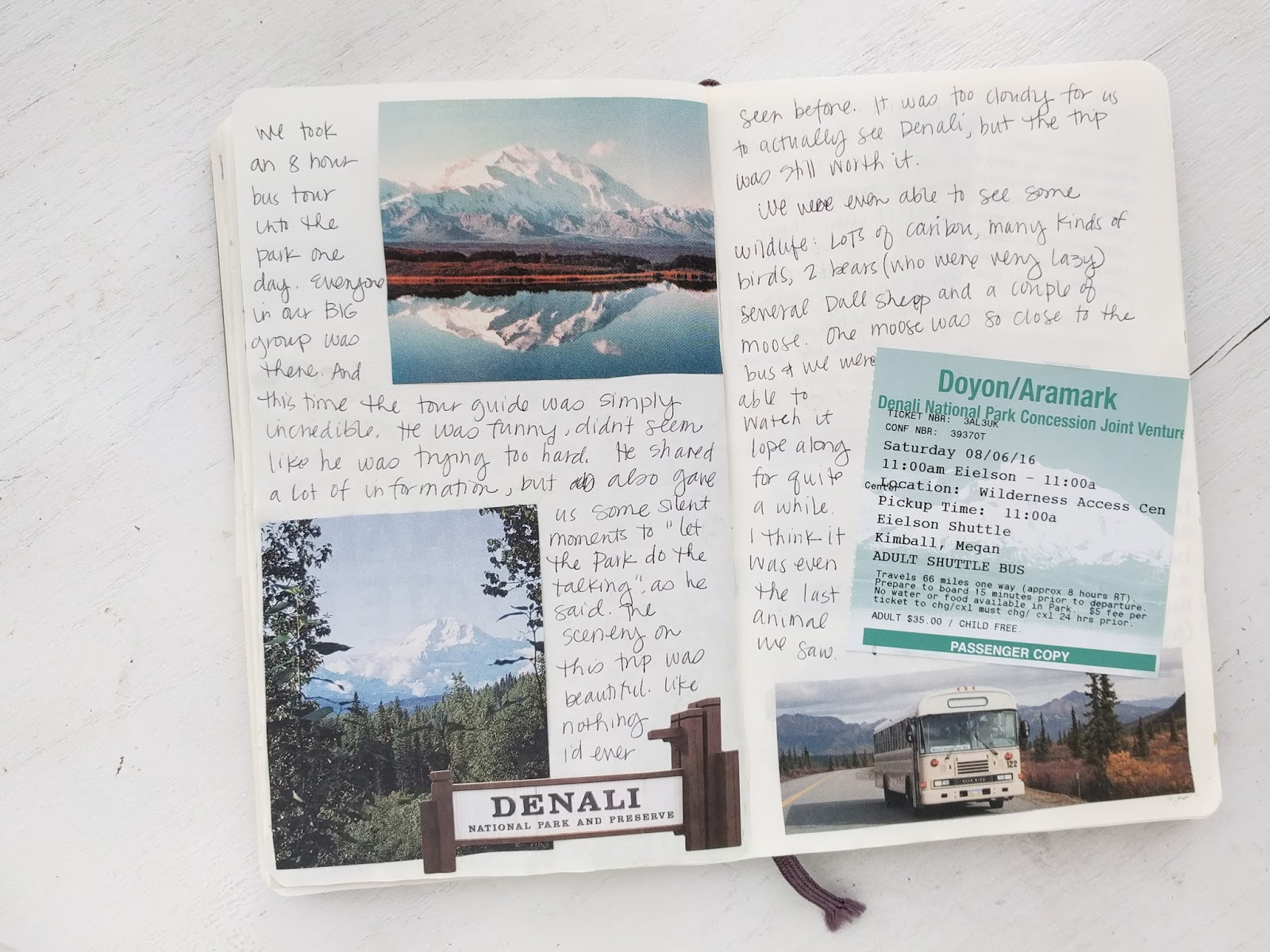 A Lively Hope My Alaska Travel Journal Tips For Keeping