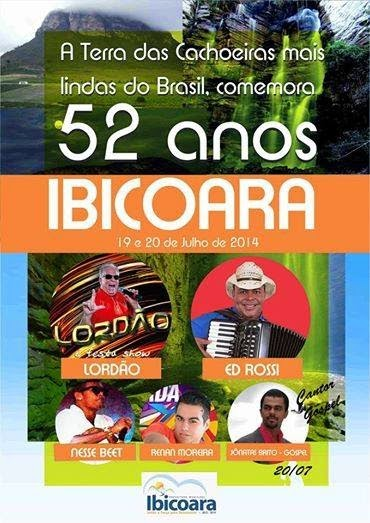52 anos de emancipação política Ibicoara 2014
