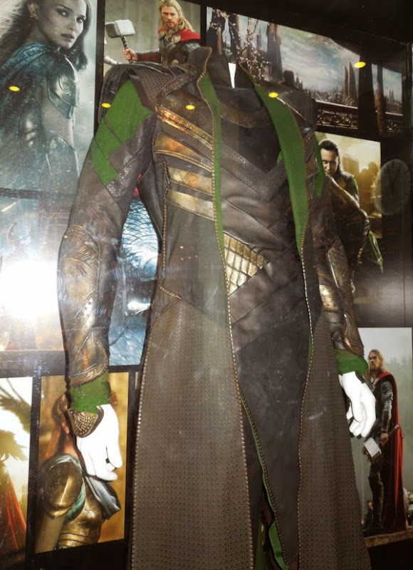 Loki film costume detail Thor 2