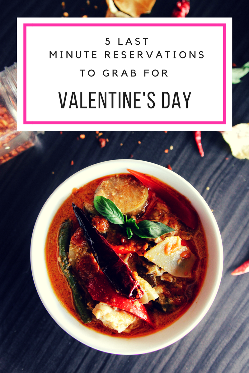 Eating Fabulously, Christopher Stewart, 5 Last Minute Reservations to Grab For Valentine's Day, reservations, Valentine's Day dinner