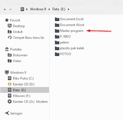 cara mengunci file paling aman