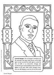 Garrett Morgan Coloring Page