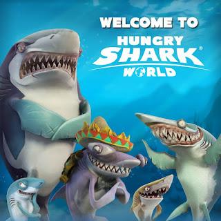 Hungry Shark World [Mod] Apk