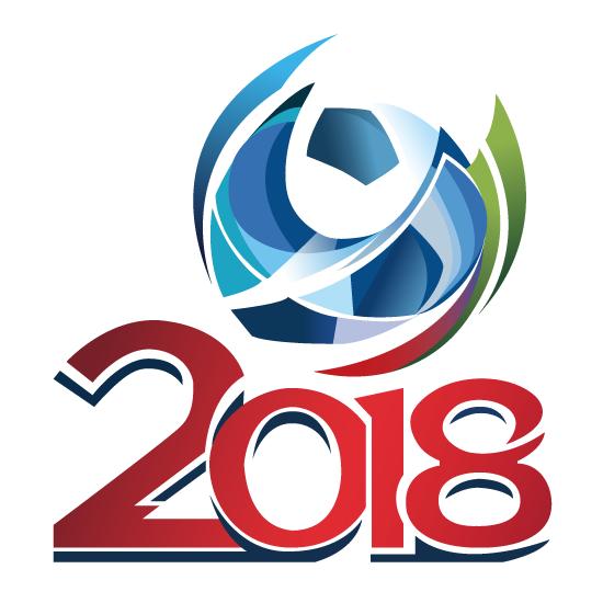 Impresionante logo del Mundial Rusia 2018