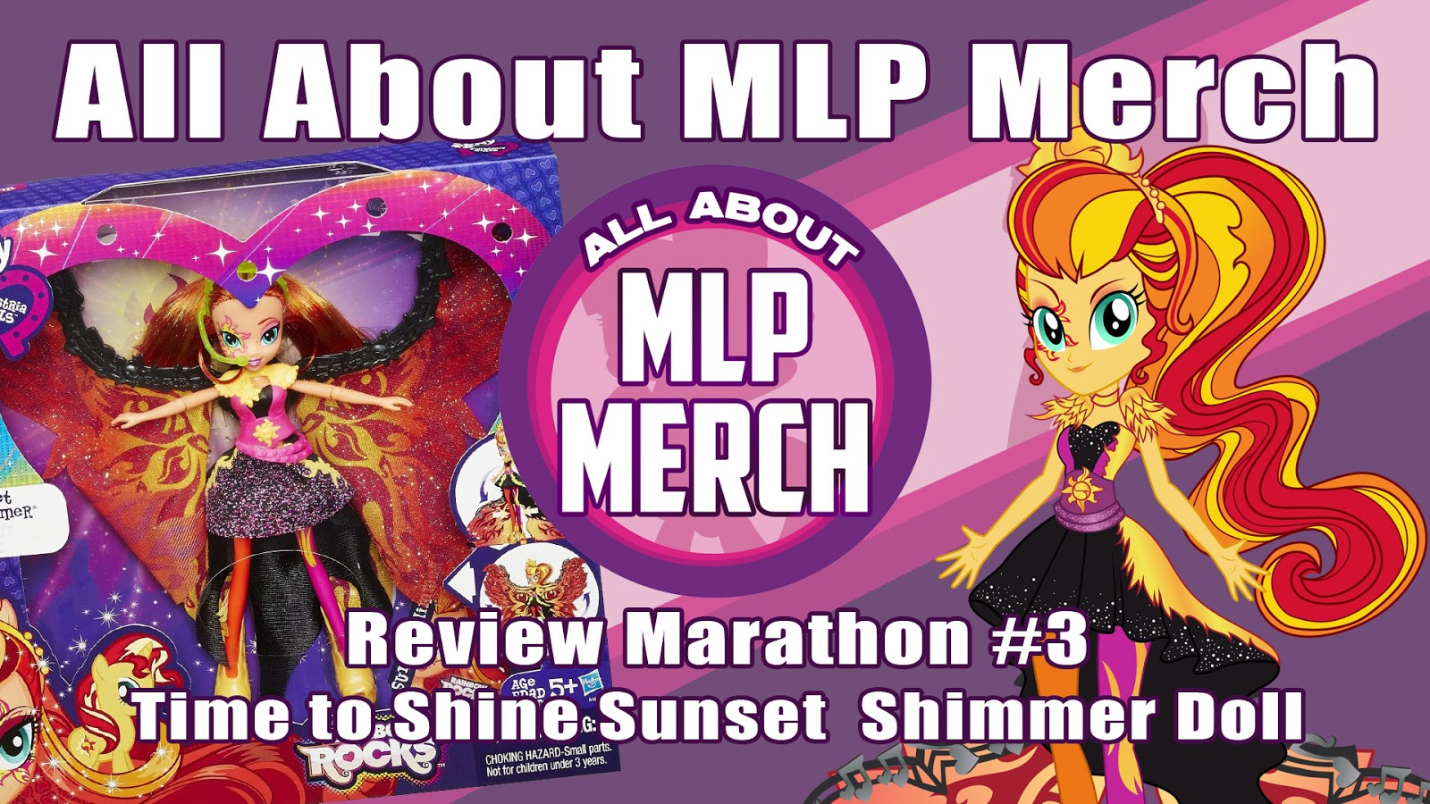 Review Marathon #3 - Sunset Shimmer Time to Shine Doll