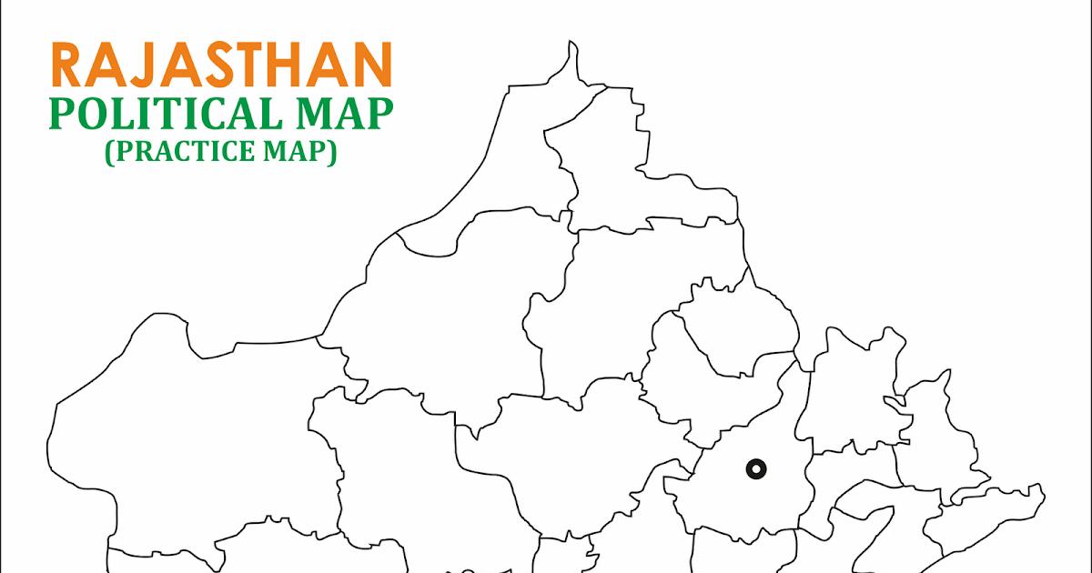 Map practice rajasthan political map blank practice map altavistaventures Gallery