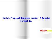 [doc] Contoh Proposal Kegiatan Lomba 17 Agustus