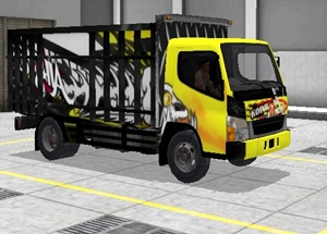Livery Truk Bussid Canter All Star