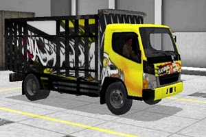 Kumpulan Livery Truk MOD Bus Simulator Indonesia [BUSSID] v3.0 Format PNG Jernih