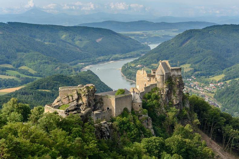 Imagen del día: Ruinas del castillo de Aggstein, Wachau, Baja Austria