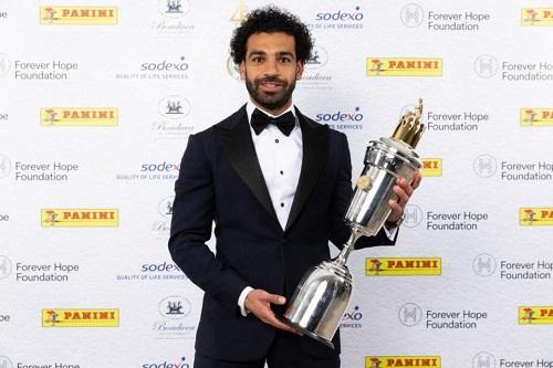 Salah đoạt danh hiệu cầu thủ hay nhất năm của PFA