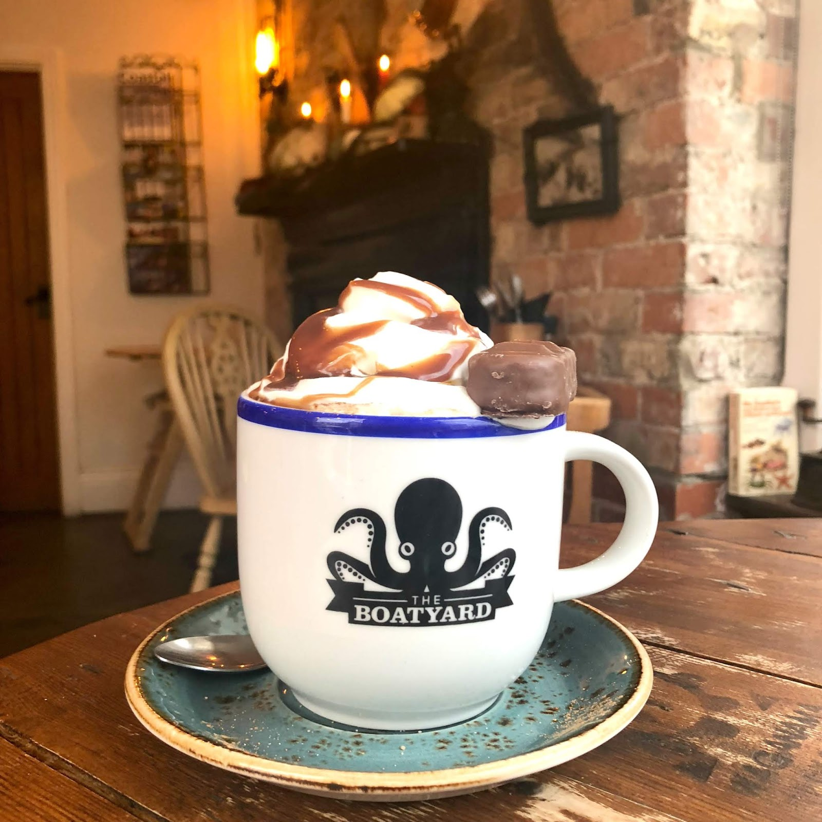 Best Hot Chocolate North East - The Boatyard