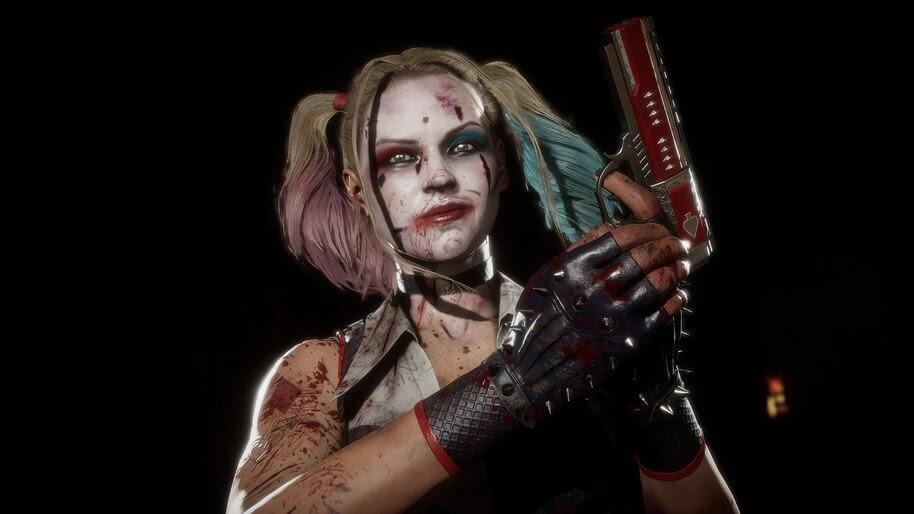 Harley Quinn, Cassie Cage, Mortal Kombat 11, 4K, #5.1511