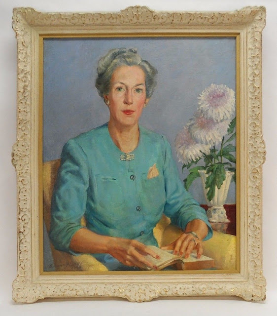 Francis J. Quirk Oil Portrait  Artist Francis Quirk