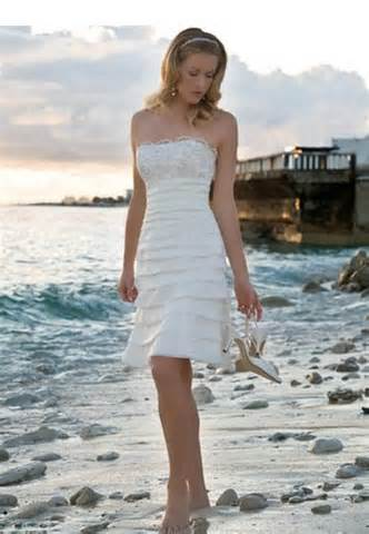 Inexpensive Short Wedding Dress for Beach ! | bridal trend ideas