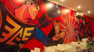 Hangout di Comic Cafe, Tebet