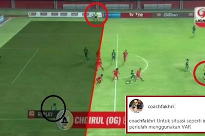 "Kontroversi Gol Offside di Liga 2, Fakhri Husaini Ungkap ""Borok"" Sepakbola Indonesia"
