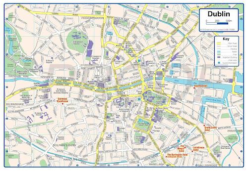 Dublim map