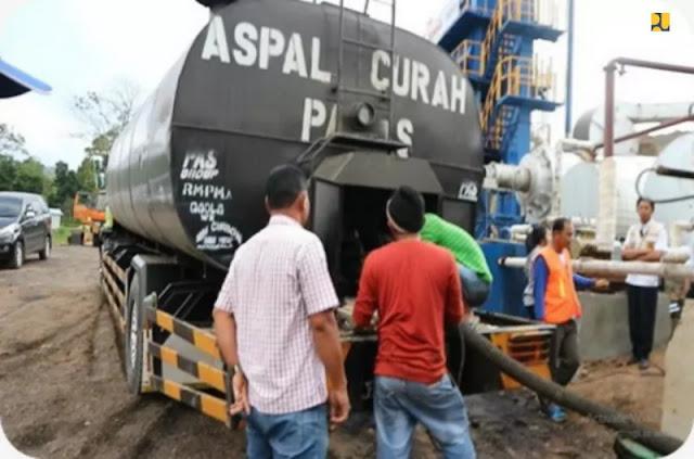 Jalankan Instruksi Presiden, Kementerian PUPR Pakai Aspal Karet untuk Preservasi Jalan Nasional