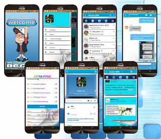 BBM Blue and White Shadows v3.1.0.13 Apk Terbaru by AAH