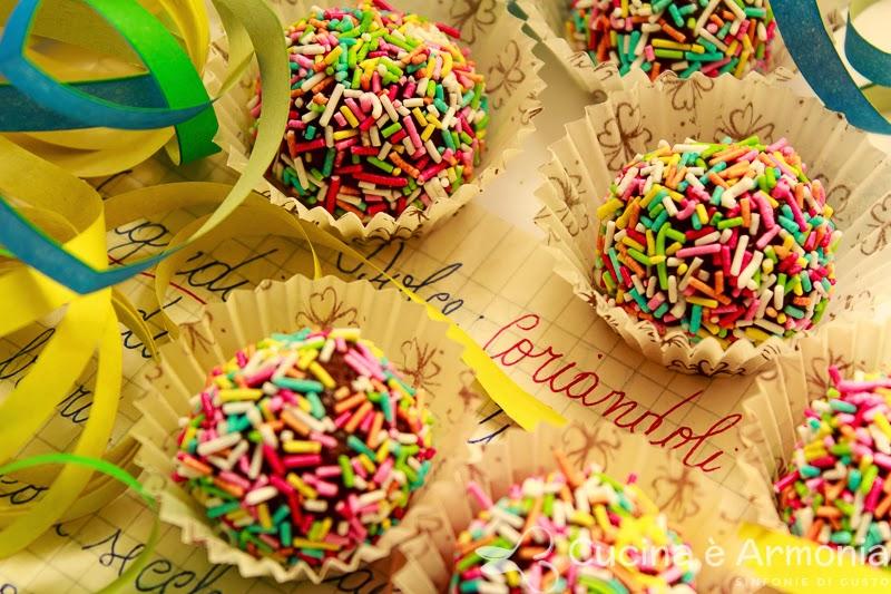 Eccezionale Cucina è Armonia: Coriandoli dolci di Carnevale HW77