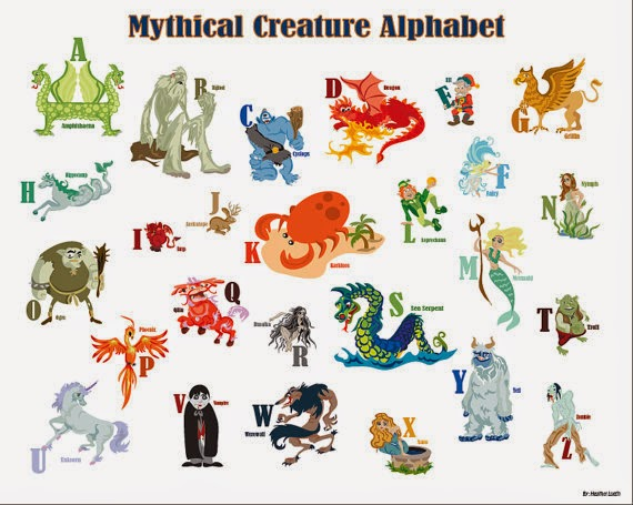Kids Ultimate Zone: Mythical Creatures List