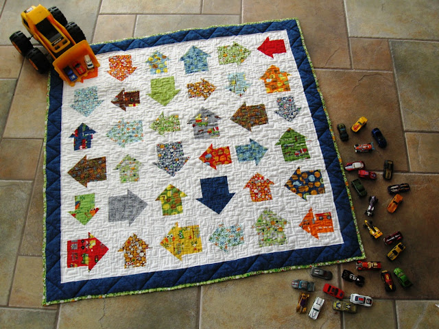 On The Go - a free baby quilt pattern by Melissa Corry for Moda Bake Shop