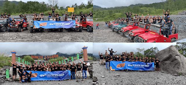 lava tour jogja - ngopi bareng mpn group