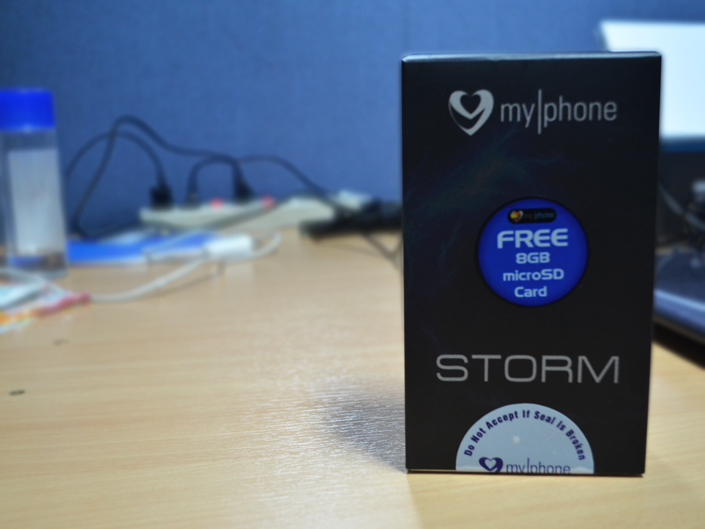 MyPhone Agua Storm Unboxing and Initial Impressions