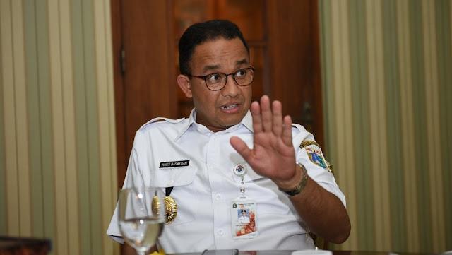 Anies Sebut Jokowi Kangen-Kangenan dengan Warga Jaksel