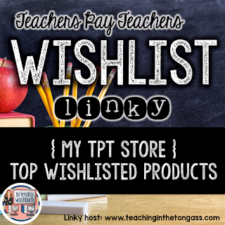 Brittany Washburn's 3 top wish listed resources are on sale!