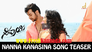 Sipaayi Kannada Nanna Kanasina Song Teaser Download