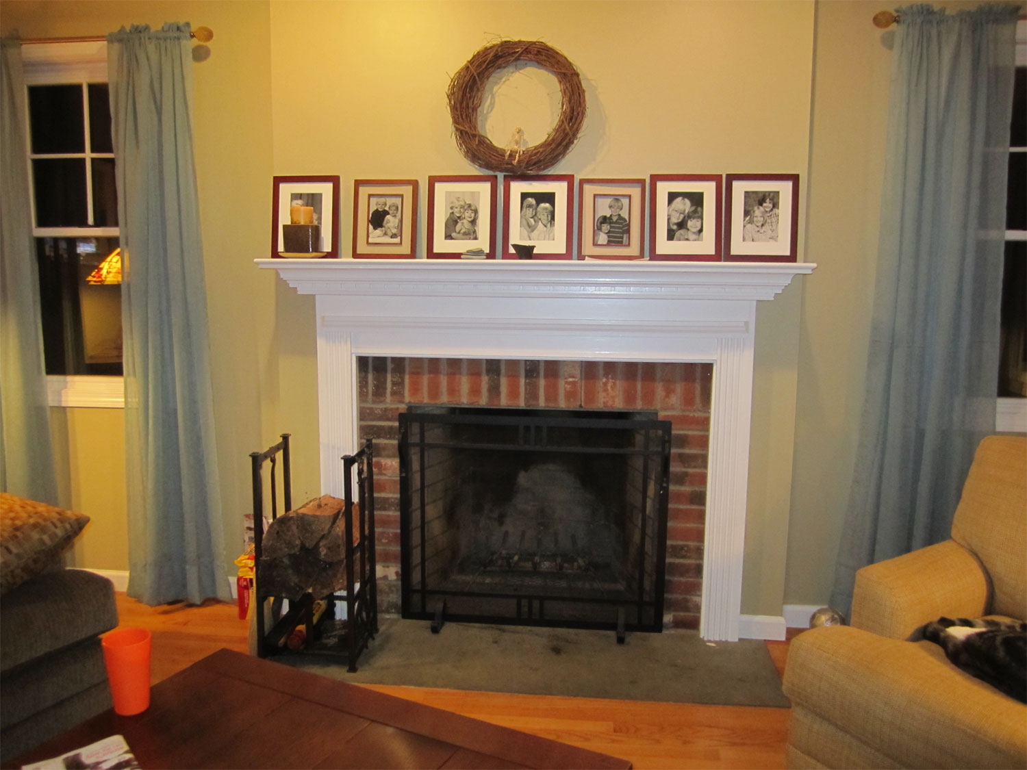 Jewelry Knitting Life Arts And Crafts Mantle Fireplace Surround