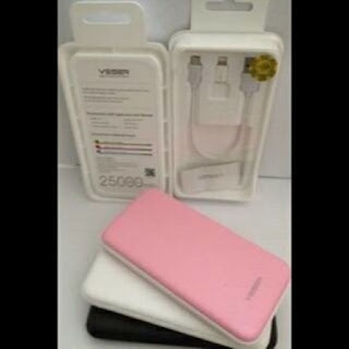 POWERBANK VEGER 25000MAH V