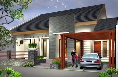 Model Atap Rumah Minimalis 1 & 2 Lantai Terbaru