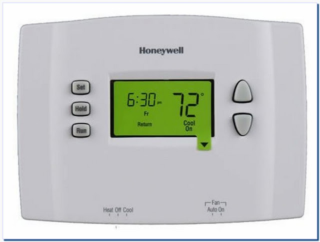 Honeywell digital thermostats manuals